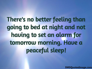 Peaceful Sleep Quotes