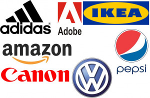 famous company logos with names