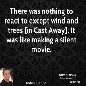 Tom Hanks Cast Away Quotes