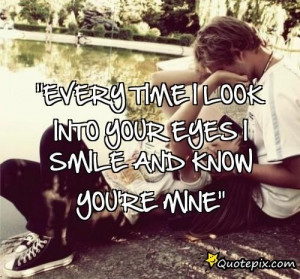 looking into your eyes quotes