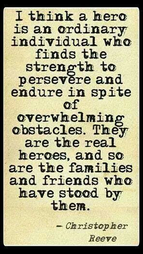 TBI Awareness - Christopher Reeve quote