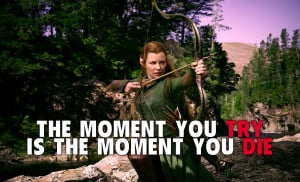 Tauriel from the hobbit movie cinema quote HD Wallpaper