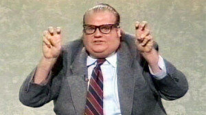 air quotes scare quotes and now dick quotes chris farley tossin air ...