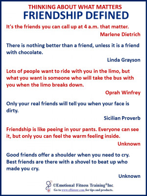 Funny quotes about friendship