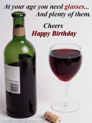 birthday quotes funny glasses cheers