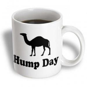 3dRose - EvaDane - Funny Quotes - Hump Day. Camel. Wednesday. - 15 oz ...