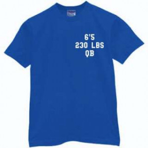 Peyton Manning Signature Shirt