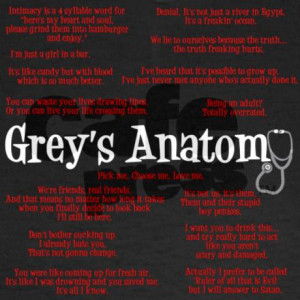Greys Anatomy Quotes About Life
