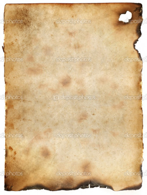 Burnt Paper Texture...