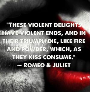 Romeo & Juliet quote William Shakespeare