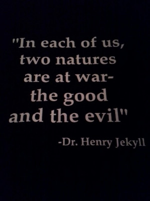 good vs evil dr jekyll and mr hyde 2 essay If you need a professional help, send us your essay question and our  pages: 2  words: 293 591  the strange case of dr jekyll and mr hyde by robert louis  stevenson,  from the evil twin, mr hyde, to the many deaths and suicide, to the  inherent good vs evil in the novella, everything is typical of the gothic novel.