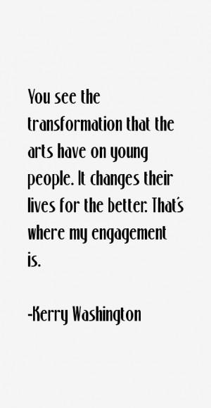 Kerry Washington Quotes & Sayings