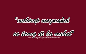 Tagalog Sad Love Quotes For You