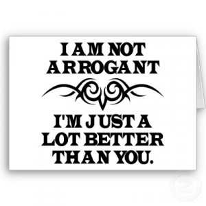 Are Christians Automatically Arrogant?