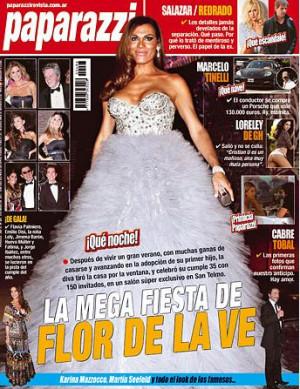 Revista Paparazzi – La mega fiesta de Flor de la V