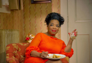 As for my boss at WPIX TV, if Oprah Winfrey was buffoon...I guess she ...