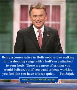 Pat Sajak conservative hollywood