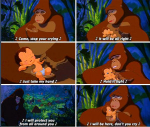 favorite disney movie Tarzan quotes,Tarzan (1999)