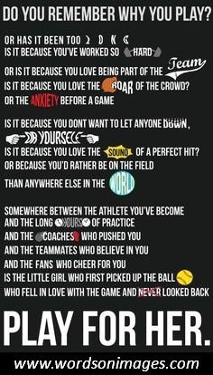 softball quotes softball quotes on pinterest home softball quotes ...