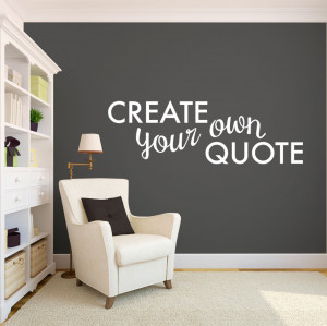 Home Create Your Own Custom Quote!