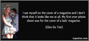 More Elize Du Toit Quotes