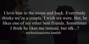 bestie secrets, secret, confession, crush, wish, best friend, i love ...