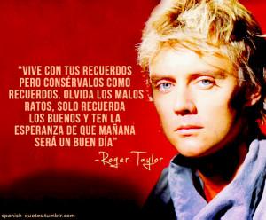 ... citas espanol frases queen roger taylor spanish spanish quotes q