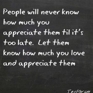 Appreciation quotes and sayings cute people positive