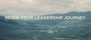 Begin Your Leadership Journey