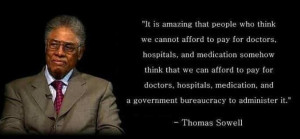 Thomas Sowell on Health Care