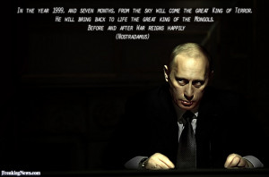 Direct image link: Vladimir Putin Nostradamus Prophecy