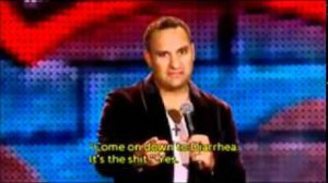 Comedian Russell Peters videos