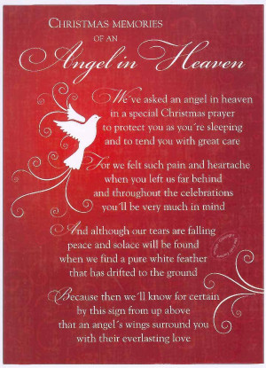... christmas poem my first christmas in heaven christmas in heaven poems