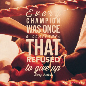 Fighter. I love this quote!Girls Fight Fitness Quotes, Rocky Quotes ...