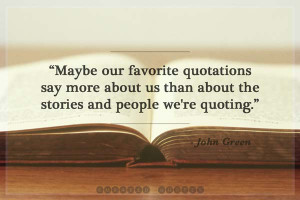 The 60 Best John Green Quotes