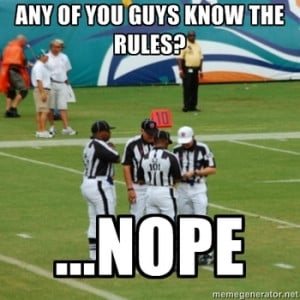 Replacement Google and the 10 Funniest NFL Ref Jokes, Tweets and Memes