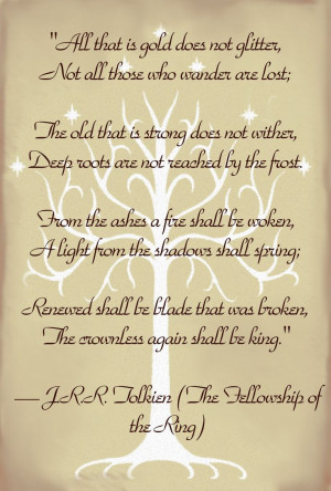 LOTR Lord of the Rings Quote TolkeinThe Lord, Lotr Lord, Book, A ...