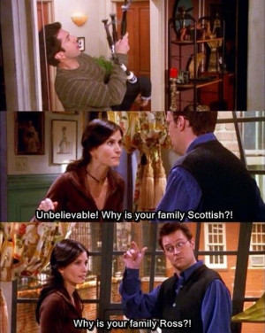 What is Chandler Bing's best one-liner?