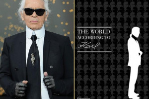 Karl Lagerfeld's Quotes Are Being Made into a Book