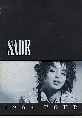 Sade 1984 Tour UK TOUR PROGRAMME TOUR PROGRAMME