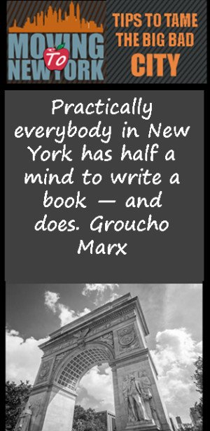 New York City Quotes: Practically everybody in New York has half a ...