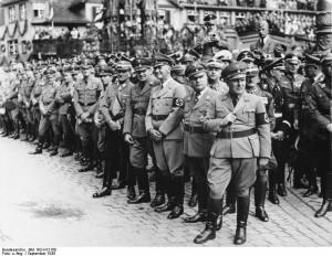 Martin Bormann, Robert Ley, Wilhelm Frick, Hans Frank, Franz von Epp ...