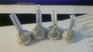 sayings about hershey kisses