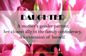 Mother Is A Daughter's Best Friend Quotes .