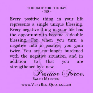 REMOVE THOSE NEGATIVE THOUGHTS