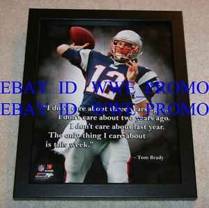 ... New-England-Patriots-NFL-LICENSED-FRAMED-8X10-Football-PHOTO-Pro-Quote