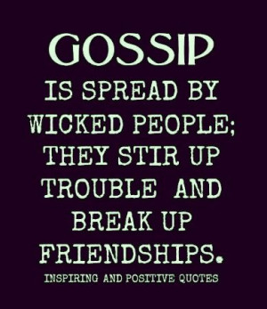 Quotes About Gossip in the Workplace