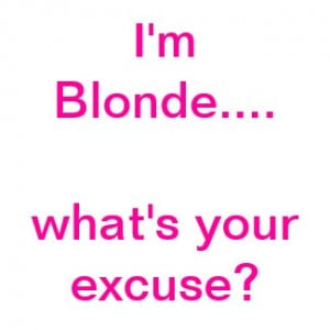 funny Blonde quotes-sayings-funny things