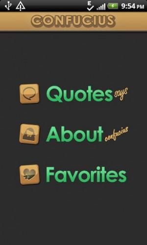 Confucius Quotes Says