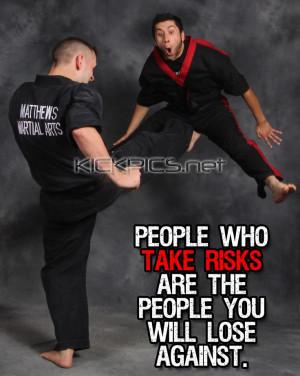 ... karate kenpo kempo kajukembo risks motivational motivate quotes